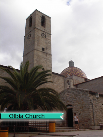 Olbia-church
